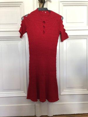 Kenzo Gebreide jurk donkerrood