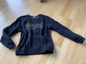 Kenzo Kraagloze sweater zwart