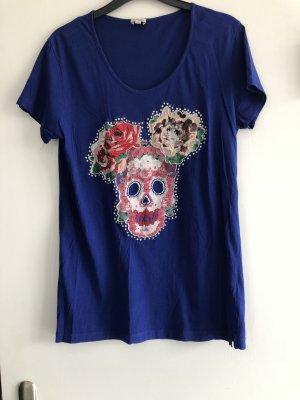 Kenzo T-Shirt in royalblau mit Motiv