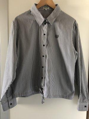 Kenzo Blouse oversized noir-blanc