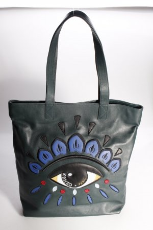 Kenzo Tote Eye Bag Green