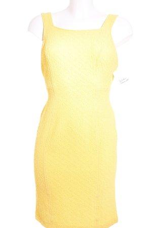 Kenzo Trägerkleid gelb Country-Look