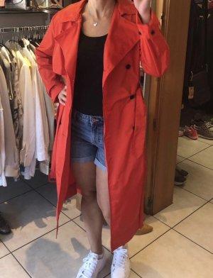 Kenzo Trench Coat red-orange