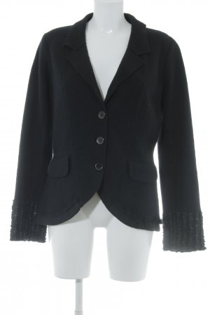 Kenzo Tweedblazer schwarz Business-Look