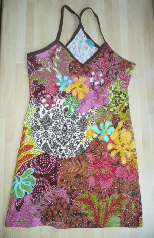 Kenzo Wave Eyecatcher Tropical Blüten Print Longtop Tanktop stretchig Gr 38-40