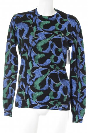 Kenzo Wollpullover abstraktes Muster Casual-Look