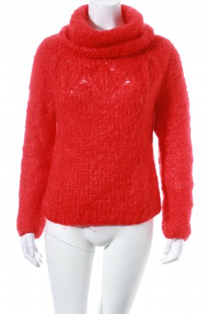 Kenzo Wollpullover rot Casual-Look