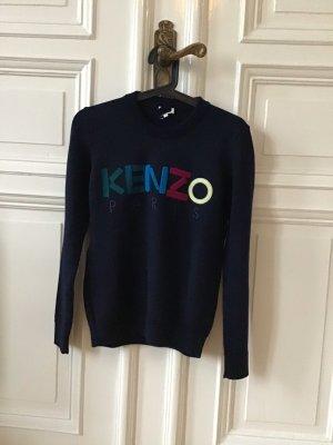 Kenzo Wool Sweater blue