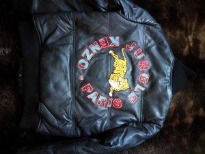 kenzo x h&m Lederjacke Leather jacket pudded gr.xs neu