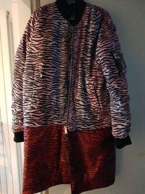 Kenzo H&M Abrigo de plumón multicolor Nailon