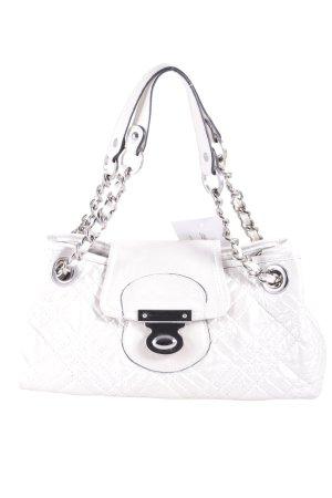 Kesslord Handtasche wollweiß schlichter Stil