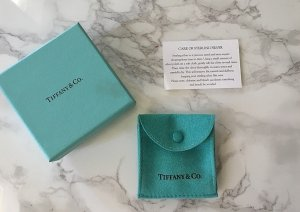 Tiffany&Co Necklace light grey real silver