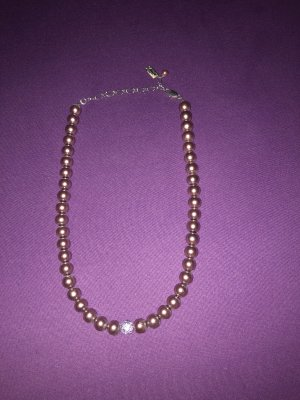 Pearl Necklace blue violet