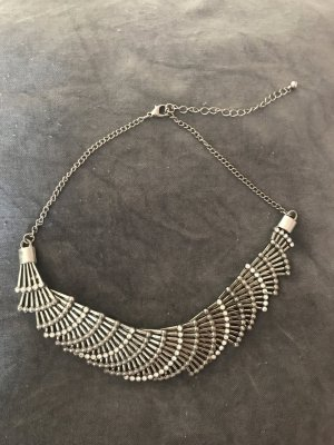 H&M Statement Necklace silver-colored