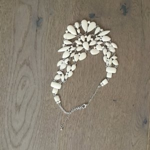 Bijou Brigitte Necklace white-light grey
