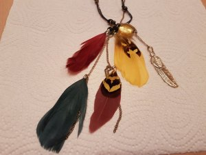 Orsay Statement Necklace multicolored