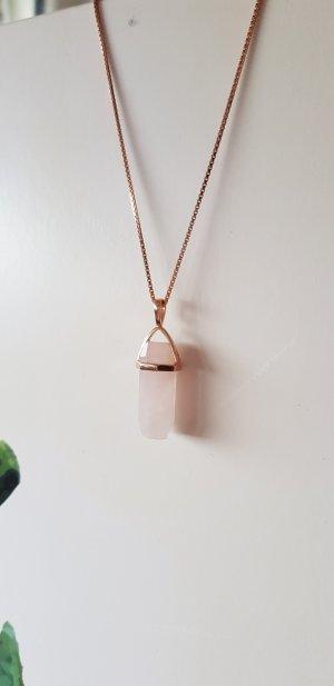 Catena d'argento color oro rosa Argento