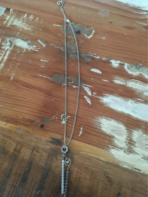 Armani Silver Chain silver-colored-anthracite