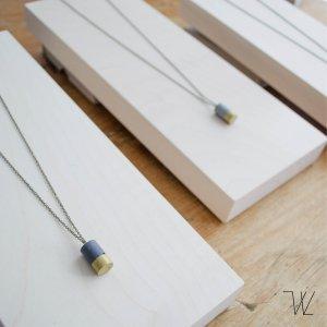 Collana oro-nero Metallo