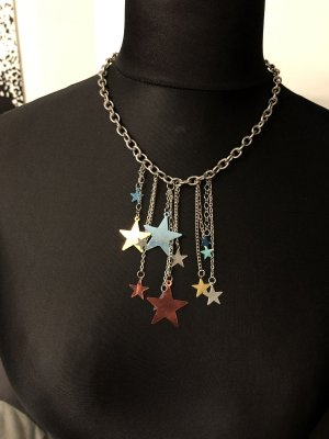 Kette bunte Sterne