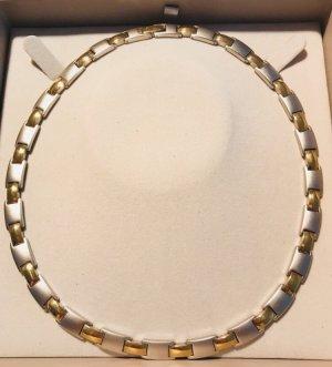 Christ Collar color plata-color oro acero inoxidable
