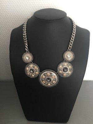 Pippa & Jean Collar estilo collier color plata-beige