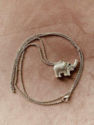 Kette Elefant Silber Schmuck Accessoir Boho Hippie Anhänger