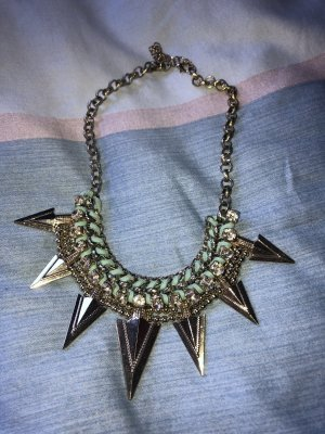 Zara Necklace gold-colored-mint