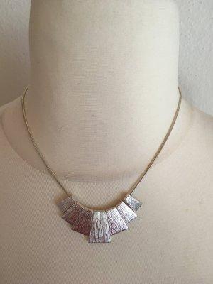 Kette Halskette Modeschmuck silber TOP