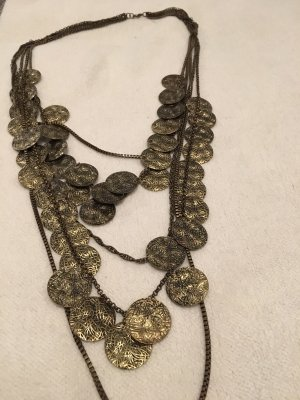 Collar color bronce