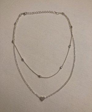 Kette Herz/Perlen