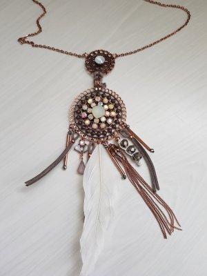 Bijou Brigitte Statement Necklace rose-gold-coloured