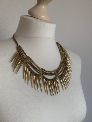 Collar estilo collier color oro