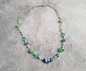 Six Pearl Necklace multicolored