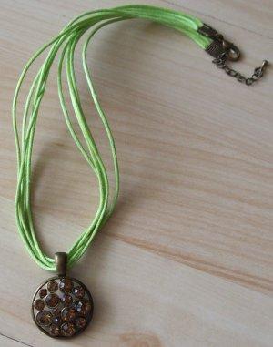 Collier bronze-vert clair