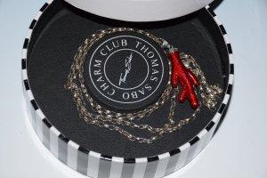 Thomas Sabo Collar color plata-rojo plata verdadero