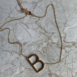 Name Necklace gold-colored