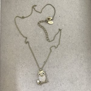Accessorize Ketting goud-wit