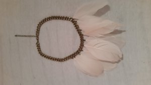 H&M Divided Necklace sand brown-cream
