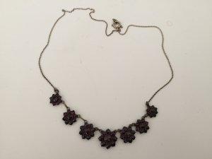 Necklace purple