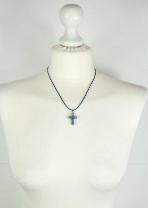 Necklace blue-dark blue