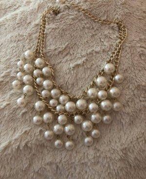 Collana oro-crema