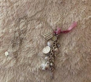 Primark Collana argento-rosa