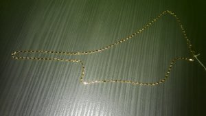Gold Chain light orange