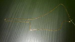 Cadena de oro naranja claro