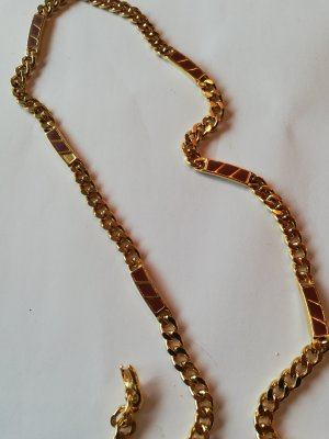 Curb Chain gold-colored-brown