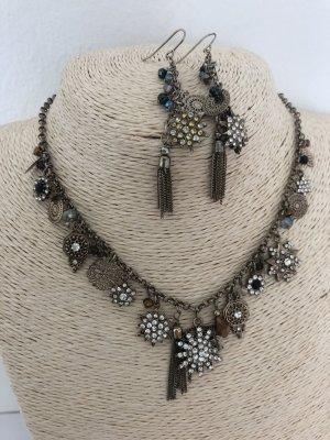 Accessorize Necklace bronze-colored-silver-colored
