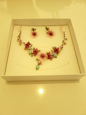 Collier Necklace pink