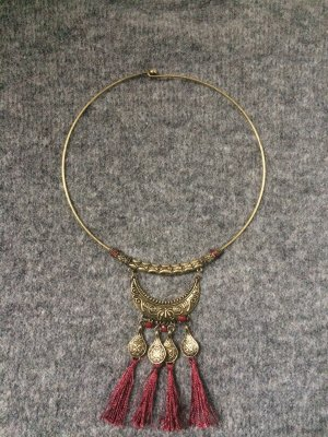 Collana oro-bordeaux