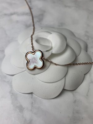 Necklace rose-gold-coloured-natural white